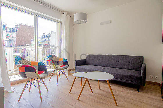 Séjour très calme équipé de 1 canapé(s) lit(s) de 110cm, télé, 2 fauteuil(s)