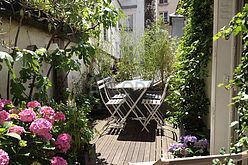 Wohnung Paris 3° - Terasse