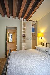 Appartement Paris 3° - Chambre