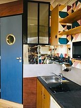 Apartment Paris 16° - Kitchen