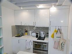 Duplex Paris 4° - Küche