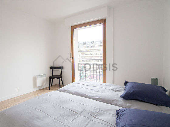 Very quiet bedroom for 2 persons equipped with 2 bed(s) of 90cm