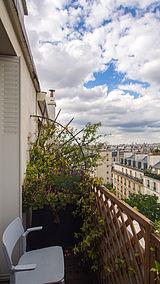 Wohnung Paris 4° - Terasse