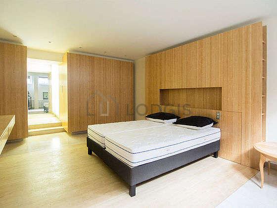 Bedroom equipped with desk, wardrobe, cupboard