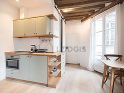 Wohnung Paris 4° - Küche