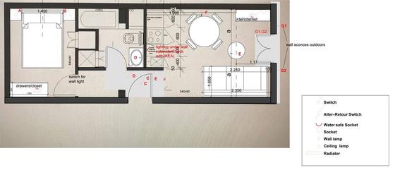 Квартира Val de marne - Интерактивный план