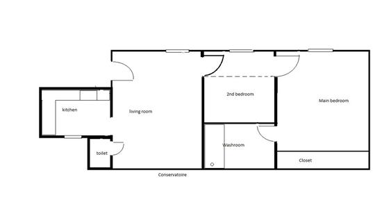 Квартира Париж 9° - Интерактивный план