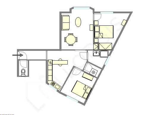 Appartement Seine st-denis - Plan interactif