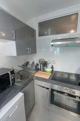 Great kitchen of 8m² with tilefloor