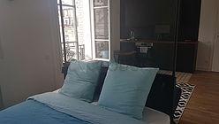 Loft París 18° - Alcoba