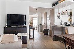 顶楼公寓 巴黎20区 - 客厅