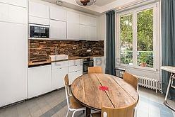 dúplex París 1° - Cocina