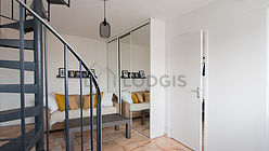 Duplex Paris 14° - Living room  2