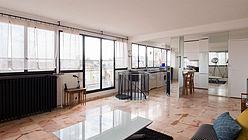 Duplex Paris 14° - Séjour