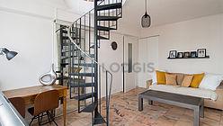 Duplex Paris 14° - Wohzimmer 2