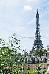 Dúplex Paris 16° - Terraça