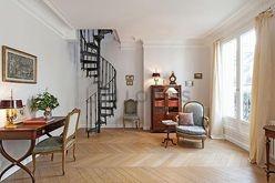 Duplex Paris 16° - Wohnzimmer