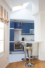Dúplex Paris 8° - Cozinha