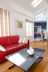Duplex Paris 8° - Séjour