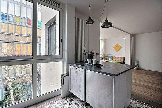 Great kitchen of 10m² with tilefloor