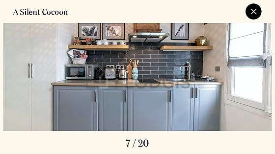 Great kitchen of 3m² with woodenfloor