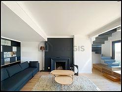 Duplex Paris 16° - Living room