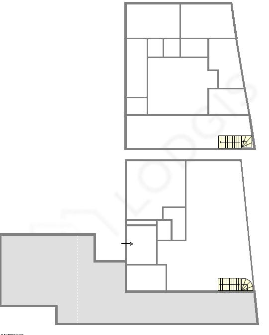 duplex Parigi 16° - Piantina interattiva