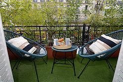Apartment Paris 10° - Terrace
