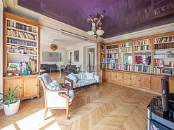 Apartamento Paris 16° - Biblioteca