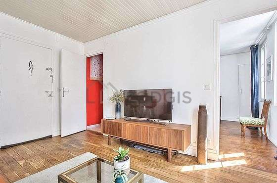 Sitting room of an apartmentin Paris