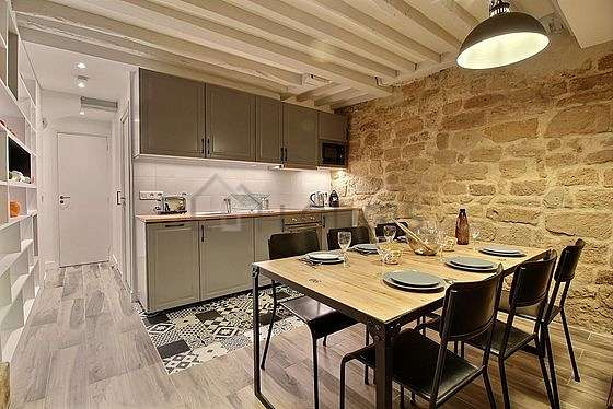 Great kitchen of 5m² with tilefloor