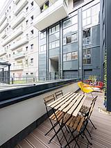 Apartamento París 14° - Terraza