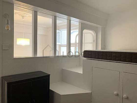 Bedroom equipped with closet, storage space, cupboard