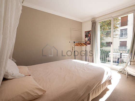 Very quiet bedroom for 2 persons equipped with 1 bed(s) of 160cm