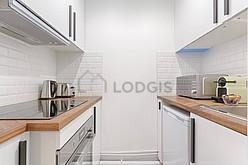 雙層公寓 巴黎12区 - 廚房