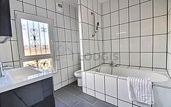 家 Seine st-denis - バスルーム