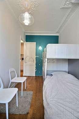 Chambre très calme pour 2 personnes équipée de 1 lit(s) supperposé(s) de 80cm