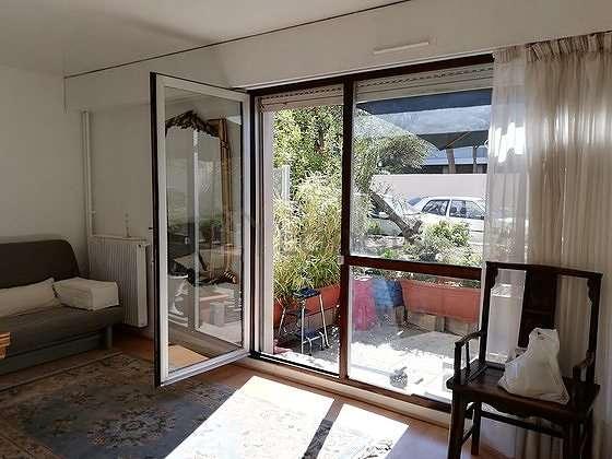 Living room facing the garden