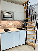 デュプレックス パリ 12区 - キッチン