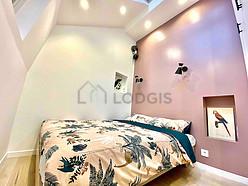 Duplex Paris 12° - Bedroom