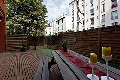 Loft Seine st-denis - Terraza