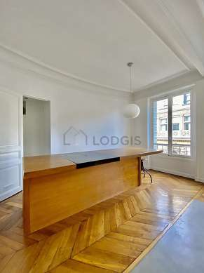 Very quiet living room furnished with 1 sofabed(s) of 180cm, sofa, closet, cupboard