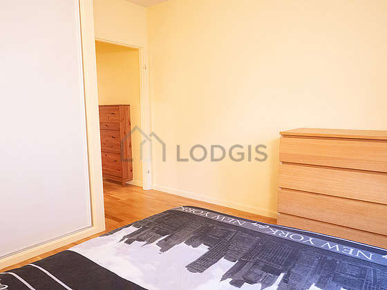 Very quiet bedroom for 2 persons equipped with 1 bed(s) of 150cm