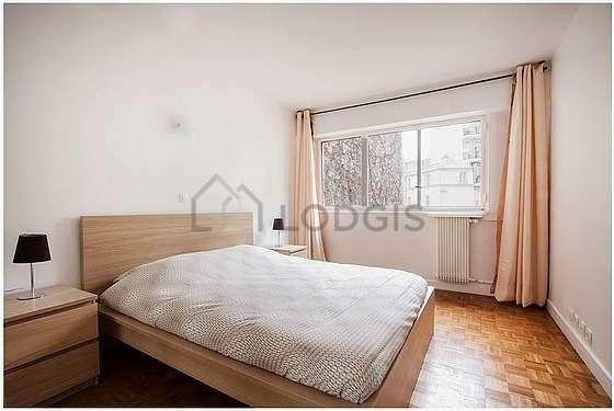 Bedroom facing the road