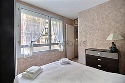 アパルトマン パリ 11区 - ベッドルーム