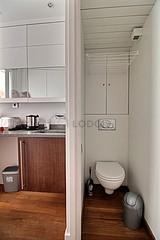 アパルトマン パリ 6区 - トイレ