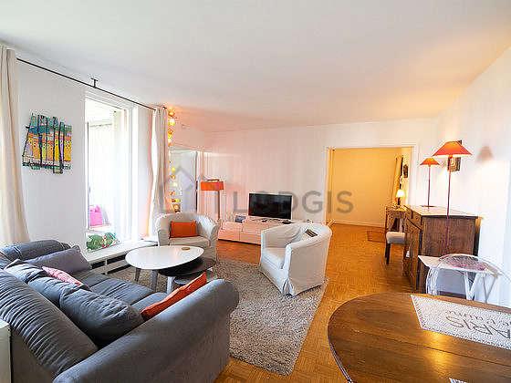 Séjour d'un appartementà Paris