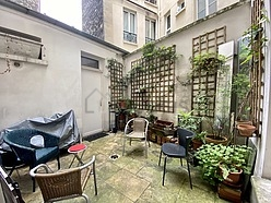 Wohnung Paris 18° - Terasse