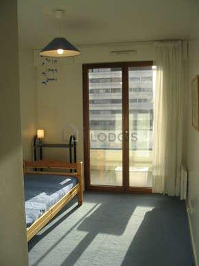 Chambre calme pour 1 personnes équipée de 1 lit(s) de 90cm