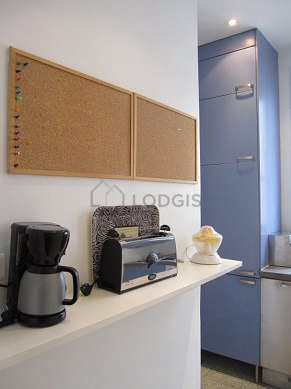 Great kitchen of 7m² with tilefloor